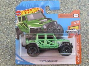 Hot Wheels 2018 #176/365 2017 JEEP WRANGLER green HW Hot Trucks New Casting