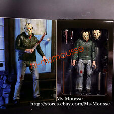 "NECA Friday the 13th Part 3 Jason Voorhees Ultimate 7"" Action Figure 3D 1:12 New"