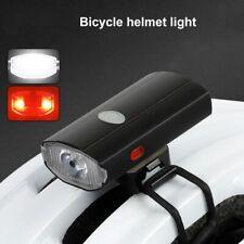Luces Led Bicicleta Recargable MTB Casco De Ciclo Ciclismo Frente y Parte trasera Luz SET