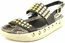 Ash Women's Karma Slip On Sneakers, Nickel/Black, 7.5M