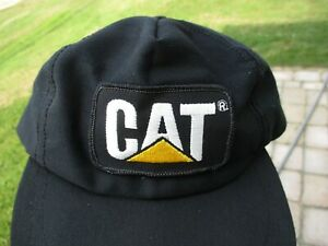 Vintage Caterpillar Equip Patch Snap Back Hat Child's Louisville Mfg Co. Rare