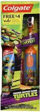 Teenage Mutant Ninja Turtles Powered Toothbrush Toothpaste Colgate Bubble Fruit
