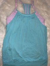 💓 Girls IVIVVA TANK DOUBLE DUTCH~SIZE 10~PINK BLUE 👀