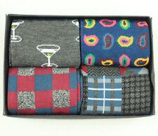 New Alfani Spectrum 4-Pack Holiday Gift Box The Gentlemen Crew Socks 10 - 13