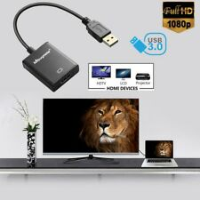 USB 3.0 to HDMI HD 1080P Video Cable Adapter Converter for PC Laptop HDTV