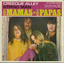 The MAMAS & THE PAPAS SP FRANCE CREEKE ALLEY/STRING MAN