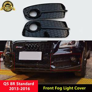 Q5 Black Fog Light Cover Lower Grill for Audi Q5 8R Standard 2013-2016