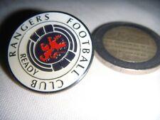 v  RANGERS FC  BADGE  PIN  SCOTLAND SCOTIA  ....