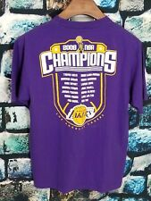Official Adidas 2009 NBA Championship Men's Graphic Tee Los Angeles Lakers
