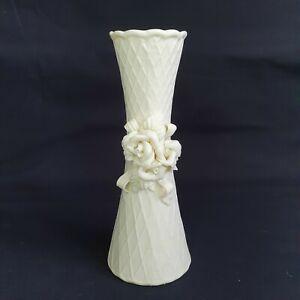 Ivory Bisque Porcelain Bud Vase Wedding Celebration etc. :A3