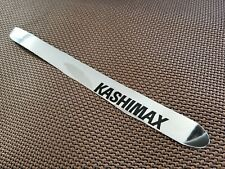 KASHIMAX chrome bicycle chainstay protector thin shiny sticker vintage style