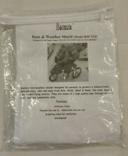 Sasha Kiddie RW-TSJ Single Jogger Travel System Rain and Wind Cover Waterproof