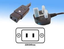 More details for marantz lead iec c9 mains lead to uk plug, free post uk
