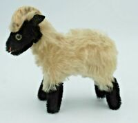 """Vintage Steiff """"Snucky"""" Mountain Sheep/Ram w/name tag"""