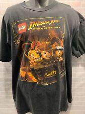 LEGO Indiana Jones Original Adventures Men's T-Shirt Size XL