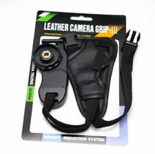Pulsera De Cuero Mano Agarre Correa De Muñeca SLR DSLR Nikon Sony Pentax Canon Reino Unido Stock