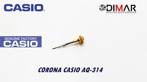 Casio Corona / Watch Crown, For Modelos. AQ-314 -gold Tone