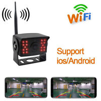 Wireless Phone Backup Camera Reversing Wifi Camera For Truck RV Trailer Cam HF