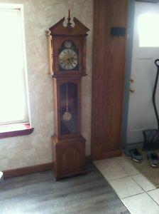 vintage ridgeway grandmother's clock