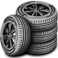 4 New Federal Formoza AZ01 225/50ZR17 225/50R17 98W XL High Performance Tires