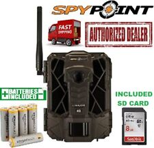 GG Telecom LINK-EVO Spypoint Link-EVO Cellular 4G 12mp Trail Camera AA/SD BUNDLE
