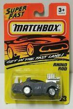 Matchbox Rhino Rod Dark Gray 53