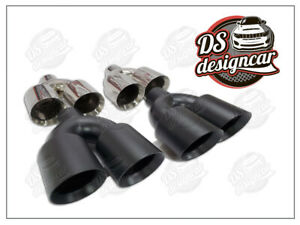 Dual Exhaust Tips 4.5 inches Jeep Grand Cherokee SRT8 TRACKHAWK 2012-2021.