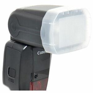 JJC White Flash Bounce Diffuser for Canon 600EX-RT speedlight 600EX RT dome 600