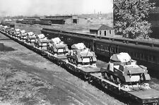1940s (6 x 4) Repro US RP- Panzer- Medium Tank M3 Lee- Grant- Lend Lease- Train