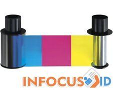 Fargo YMCK 500 Full Colour Ribbon 084051/84051-per HDP5000 & hdpii-Inc IVA