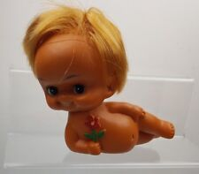Vintage 1960s HAWAIIAN SASSY laying down Doll Blonde Hula Nude Japan