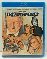 Victor Hugo's LES MISERABLES 1958 FILM Jean Gabin BOURVIL New Blu-Ray Disc