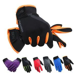 Cycling Bik Breathable MTB Gloves Full Finger Touch Screen Autumn Mittens