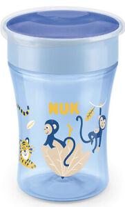 NUK Magic Toddler Cup - 8 Months+ (Blue Monkey)