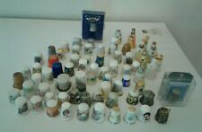 Lot 74 THIMBLES SPODE ROYAL ALBERT ENGLISH  LIMOGES DISNEY COKE PARAGON Germany