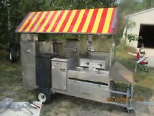 Used mobile food cart in excellent confition