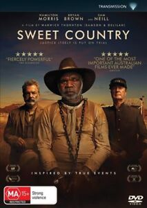 SWEET COUNTRY DVD, NEW & SEALED, 2018 RELEASE, REGION 4, FREE POST