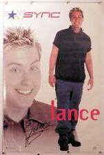 "N Sync - Lance - Poster - Music 22.25"" X 34.50"" Nos (b212)"