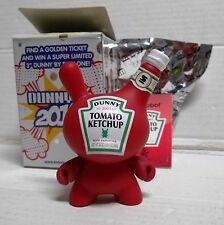 Kidrobot Dunny 2010 Series Sket One Tomato Ketchup NEW