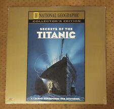 SEALED National Geographic Secrets of The Titanic Laserdisc #G52000