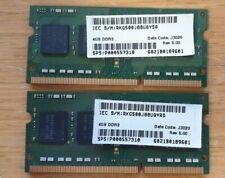 Samsung Laptop Memory 8GB 2 X 4GB 1Rx8PC3L-12800S DDR3