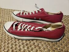 scarpe converse all star basse bordeaux in vendita | eBay
