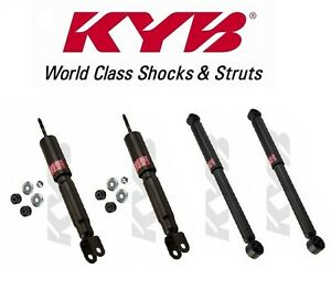KYB Gas-A-Just Monotube Shocks Set for 1992-1999 Chevrolet K1500 Suburban 4WD