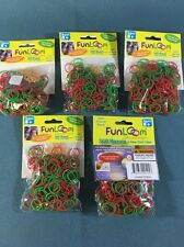 Limited Edition 1500 Pcs Krazy Fun LOOM BAND Lot Of 5 300 CT BAG
