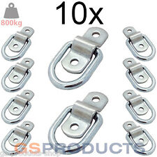 10x 800kgs Heavy Duty Tie Down Lashing Ring & Plate Anchor Trailer Points