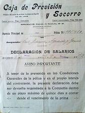 E79-DOCUMENTO COMPLETO 1932 REPUBLICA RAMBLA BARCELONA