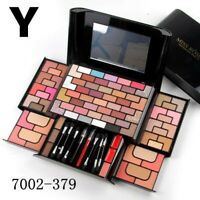 Miss Rose Eyeshadow Beauty Palette Shimmer Lipstick Makeup set