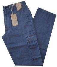 Pantalone uomo taglia M L XL XXL XXXL  tasconi Jeans leggero  SEA BARRIER Darcy