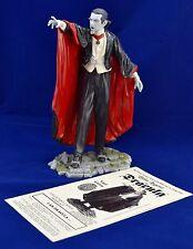 Rare Bela Lugosi As Dracula Vinyl Model 1999 Janus Pro Built Painted