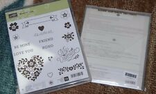 Stampin Up BLOOMIN' LOVE & BLOOMIN HEART Thinlits Valentines Day Bundle - NIP